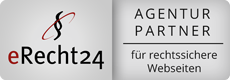 eRecht24 Siegel - Agenturpartner